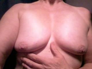 My woman flashing her titties in the truck :) I love when women flash me!
