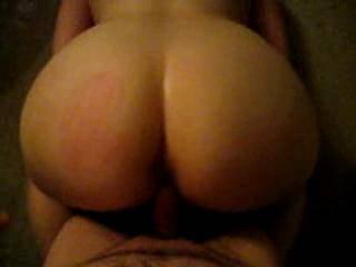 Αfter some spanking in this incredible ass until it turns red, the grab and fucks until cum deep...!!!