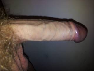 pure delicious cock meat.  mmmm, swallowing that cock is gonna be a job...a nice job.  K