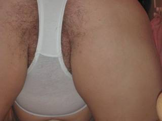 What are your thoughts of me giving your white,tight knickers a thick creamy coating of my hot spunk? x