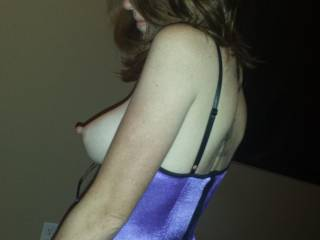 Fantastic  beautiful photo. Her tits r 2 die4. They defy gravity and curve heavenly and beg to be kissed. Glad you enjoyed my collection and i am going to look at the rest of yours,