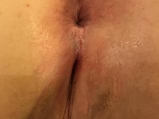 A well fucked pussy and ass of my new friend I met while on vacation in Ohio