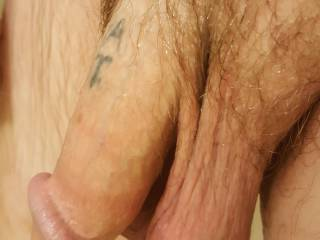 My nice soft cock awaiting a sexy, wet, tight pussy!