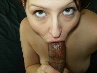 sexy photo - you can tell she loves your cock!