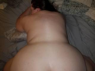 Shoving my dick in doggy style and trust me she can handle some big dick.