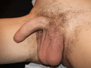 A rather unapologetic picture of my penis and balls