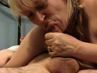 Just a shared wife loving some cock. Watch my newest video as how I want to treat your throbbing, hard cock. My other videos will show you how this hot wife will take care of your needs.
