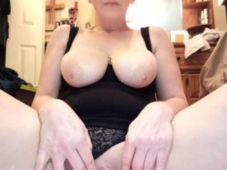 She horny