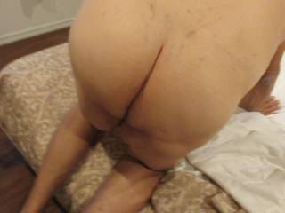 My ass waiting to get fucked !!