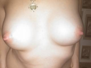 wife new tits...she is super sensitive and loves them liked by both men and women