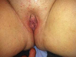 A sweet and horny blonde BBW I hooked up with once upon a time... Damn her pussy tasted good!!