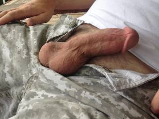 I would suck it good and deep until he shoots his load wherever he wishes.