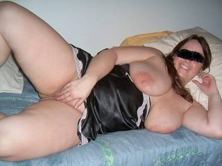 wife playing with herself while guys jerk off to her on Zoig