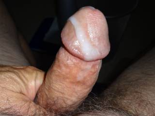 Oozing my pre and cum..