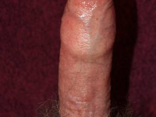 MMM ..... Slide him in my Mouth!! I Want to Work my Tongue Roll your Foreskin down, and get Working on your Fat Swollen, and Delicious Head mmm I won't STOP Until I Suck DRY!! ;) m-mm-mmm.  Lucy♥ -x-