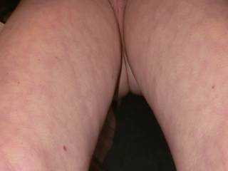 The road my cock takes towards my wife\'s tight pussy. Now, who would let the husband ride that road?