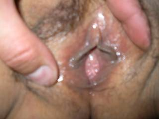 such a tight little hole!!..love to stretch her with my swollen cock
