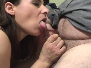 Met this beach chick who loves sex. After we fucked she gave me this long, killer blowjob til I came, then licked me clean.
