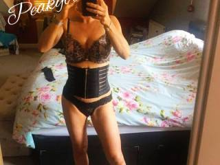 Selfie sent to the husband asking his advice for the swingers club x  What do you think ? X