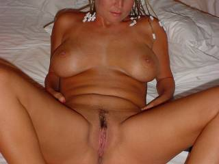 mmm love to get my fat cock inside your  delicious pussy mmm looks sooo lickable xx