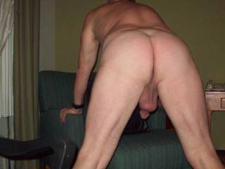 Nice ass. But would look better with my cock inside it.