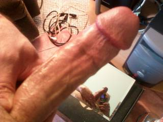 See me in the mirror? It's a Cock-Selfie!!