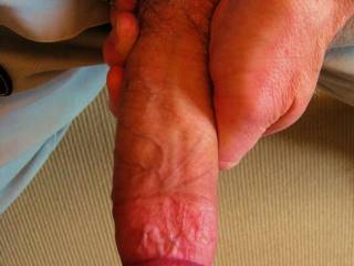 I'd give that cock both hands, my tongue, lips and my mouth.  Oh yeah and my pussy wants to feel it inside pumping in and out of it.  Mrs. K