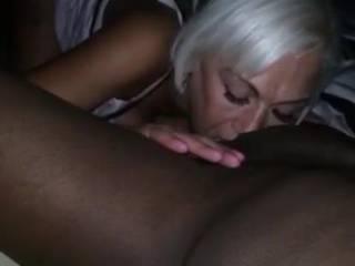 Enjoying her amazing skilled tongue & nice warm wet mouth working it\'s amazing MAGIC