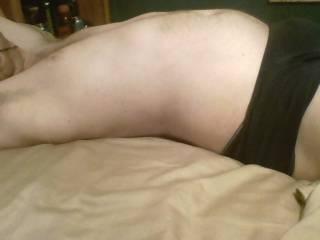tied down exposed helpless in my undies