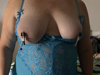 She loves to have her nipples pinched and sucked