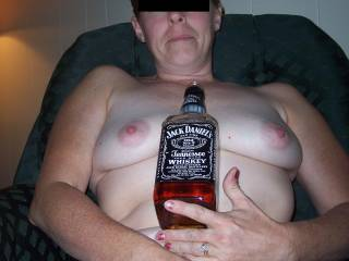 Jack Daniels, big tits, and a thong, what could you do with a combo like that?