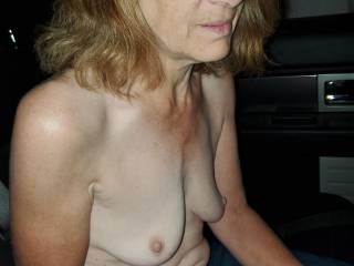 This mature married slut is desperate for cigarettes. But first she will have to pacify herself with my cock.