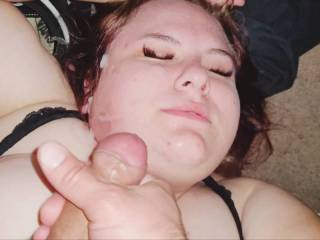 Eager wanting  the cum till I finally  shot my load