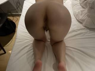 showing off my little asian slut