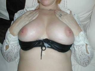 More than one more, love to see a few loads over those nice tits