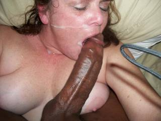 James was a little upset when I Unloaded My Cum inside of his wife Gloria\'s Mouth. She was eager to take my Load but doesn\'t allow James to cum in her mouth. Too bad for him