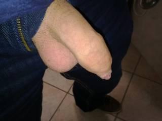 My tiny uncut cock