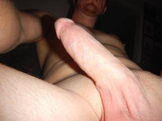Mmmm, fuck me with that yummy looking cock while hubby films us!!!
