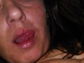 She's dripping and looking for big fat dicks to pound the shit out of her as usual. Anything goes. Trying to get gangbang vid done. Submissive. Likes rough, facials anal and being called and treated like a whore. Says she cums harder being nasty