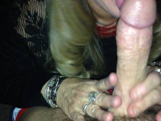 a friends wife getting me ready for fucking