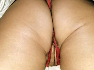 spread my thong and ass and thrust you fingers, tongue, and cock deep within me~! ...lick the juices from my cunt as you spurt traces of your pre-cum into my pussy cream...