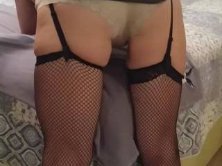 The wife getting her weekly spanking. Who thinks she still has a spankable/fuckable ass???