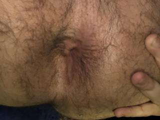 Never thought I would be doing this but since most men on here like to show off their asshole, here is my hairy, virgin hole. Never been touched.