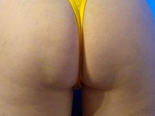 my hot wife showing her lovely ass. Would love to hear from ladies and couples who would like to play with us. The wife loves to receive hot detailed stories about how you would enjoy pleasing her and or us. Please send messages with detailed sexy stories