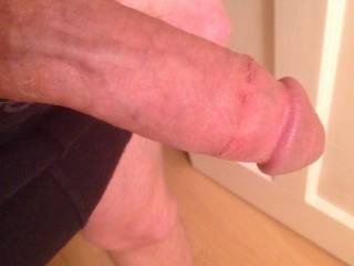 Is someone going to get me nice hard? This cock needs a good sucking x