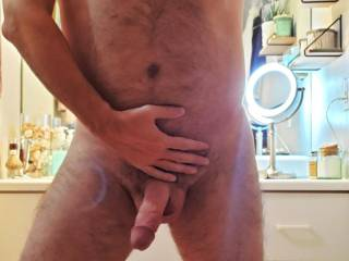 Getting ready to shower. Want to join me?