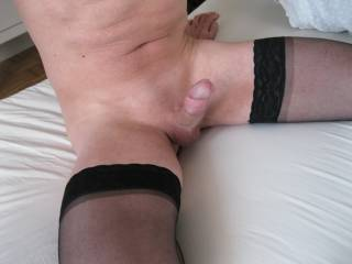 in stockings