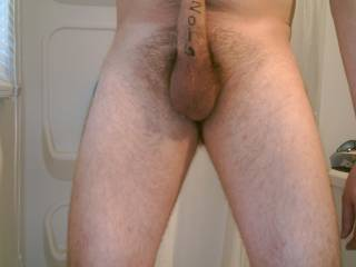 My balls and hard cock....I cant seem to get the whole thing in the pic by myself...any ladies want to help?