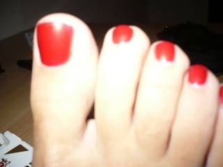 Not for me it is a pure sexy part of my life to worship kiss and suck on toes like yours my god i can worship those toes untill i die those toes are made for my mouth