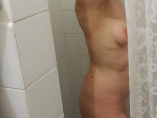 Taking a shower, getting hot, I love it hot...